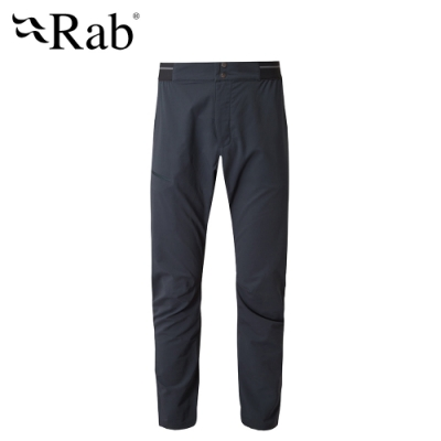 【RAB】Torque Light Pants 防潑水輕量軟殼長褲 男款 鯨魚灰 #QFU34