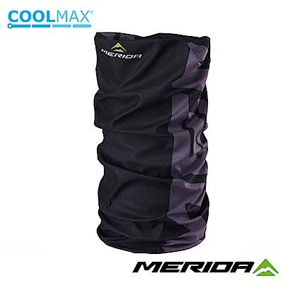 《MERIDA》美利達 Coolmax頭巾 黑/灰 2309004102