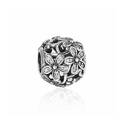 Pandora 潘朵拉 魅力鑲鋯雛菊 純銀墜飾 串珠