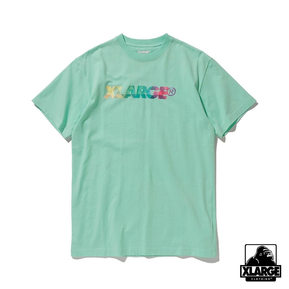 XLARGE SST PRISM STANDARD L 短袖T恤-亮綠