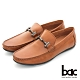 【bac】時尚樂活 精點裝飾真皮帆船鞋-棕色 product thumbnail 1