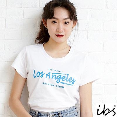 ibs los Angeles字母T-白