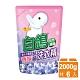 白鴿 天然濃縮抗菌洗衣精 迷人小蒼蘭香氛-補充包2000gx6包 product thumbnail 1