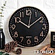 TROMSO紐約時代玫瑰金靜音時鐘-時代數字黑 product thumbnail 1