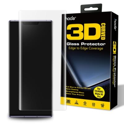 hoda 華為 HUAWEI Mate 30 Pro 3D玻璃貼(uv膠全貼合滿版)