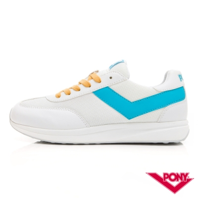 【PONY】Montreal 甜蜜配色復古運動鞋 慢跑鞋 休閒鞋-女鞋-淺藍色