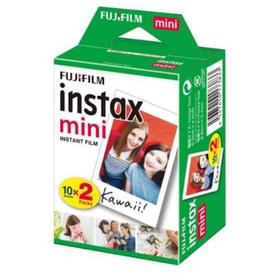 富士 instax mini 空白底片 1盒 (2入共20張)