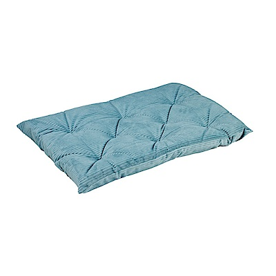 BOWSERS加厚極適寵物睡墊-水藍燈芯絨XS