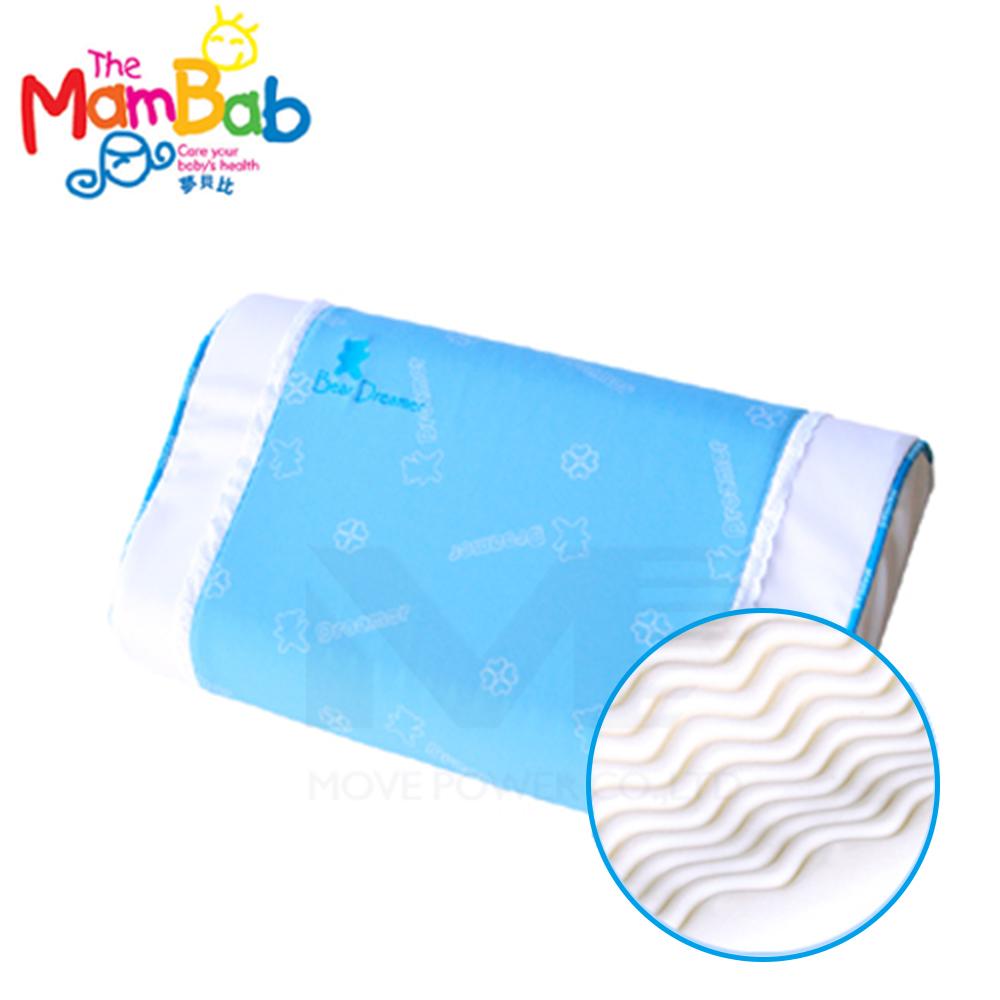 《夢貝比》 銀離子抗菌波浪型乳膠枕-雙色【支撐度佳又舒適】 @ Y!購物