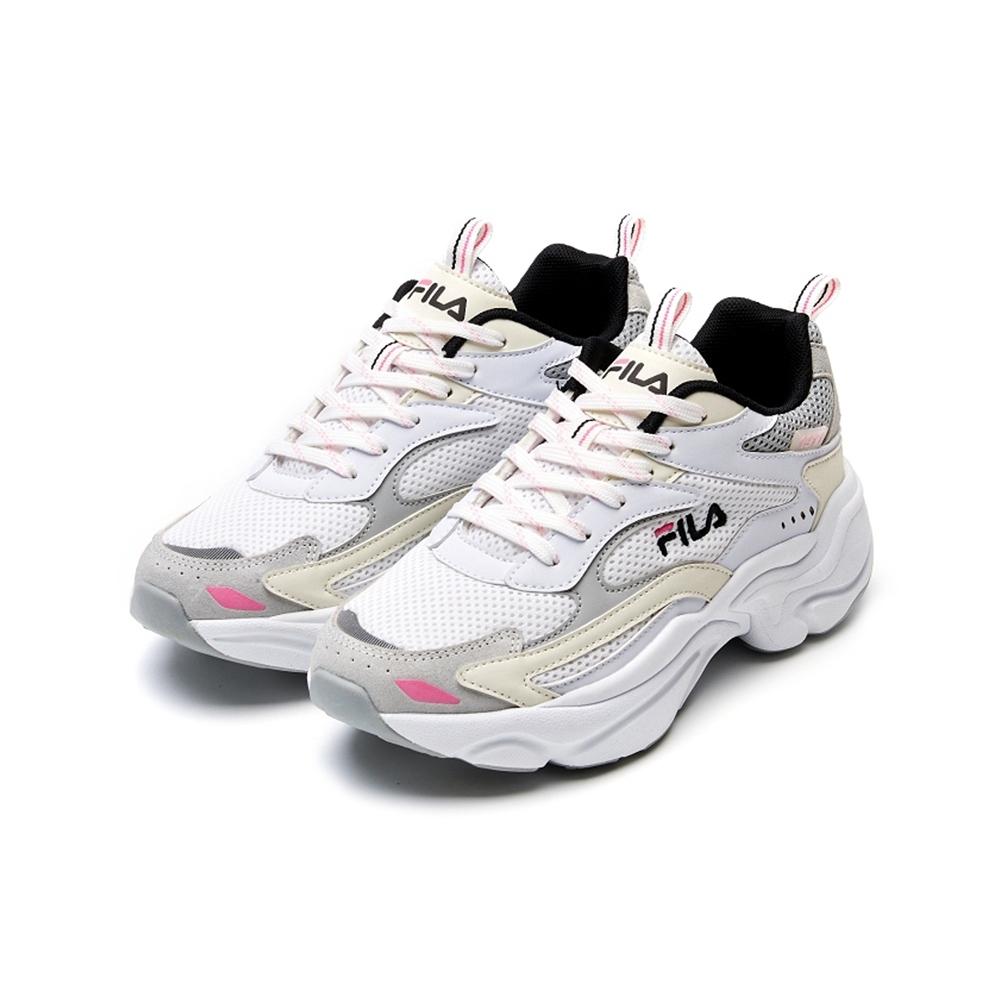FILA SCORPION 女 運動鞋 慢跑鞋-灰 5-J313V-143