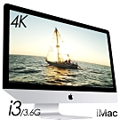 Apple iMAC 21.5 4K i3/16G/1T外接+240(MRT32TA/A)
