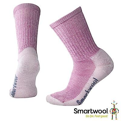 SmartWool 女 輕量減震徒步中長襪 霧紫 粉霧紫