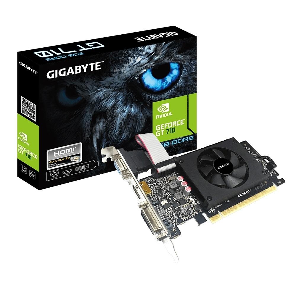 技嘉 GT 710 GV-N710D5- 2GIL 顯示卡