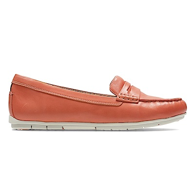 Clarks Un Terra 女休閒鞋  橘