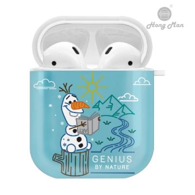 迪士尼 冰雪奇緣系列 AirPods防塵耐磨保護套 雪寶