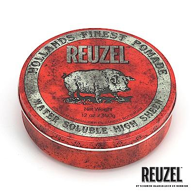 REUZEL Red Pomade紅豬中強水性髮油340g