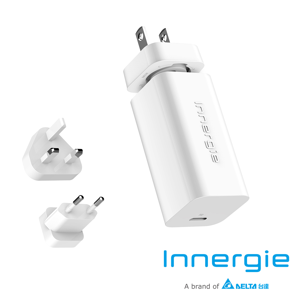 Innergie PowerGear 60C 60瓦 USB-C 筆電充電器 (國際版)
