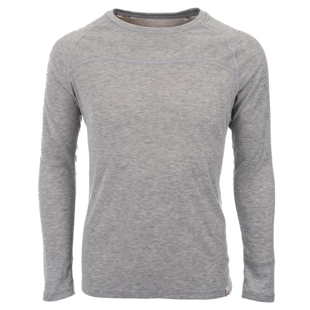法國【EiDER】男保暖排汗機能型圓領排汗衣紫