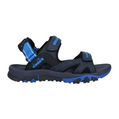 DIADORA 男運動涼鞋-魔鬼氈 拖鞋 海邊 海灘 戲水 游泳 沙灘 DA71202 丈青藍白