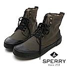 SPERRY 古著靴藝經典帆布復古靴(男)-橄欖綠