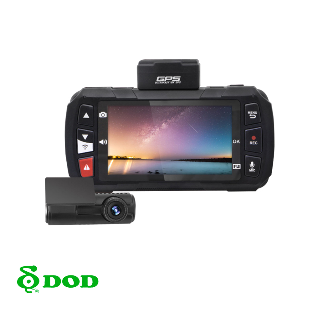 DOD CS9 SONY感光 1440P高畫質+GPS測速 雙鏡頭行車紀錄器
