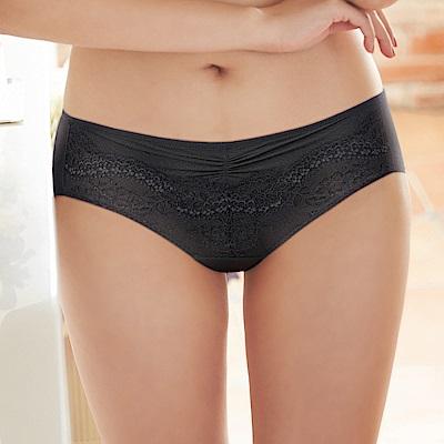 蕾黛絲-經典真水平口內褲 M-EL(黑)