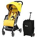 美國 【 Diono Traverze 】 TT 車,線性黃 - 輕便型行李式秒收嬰幼兒推車