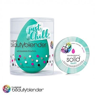 beautyblender 原創美妝蛋-活氧綠限量超值組(蛋+清潔皂-綠色0.5oz)