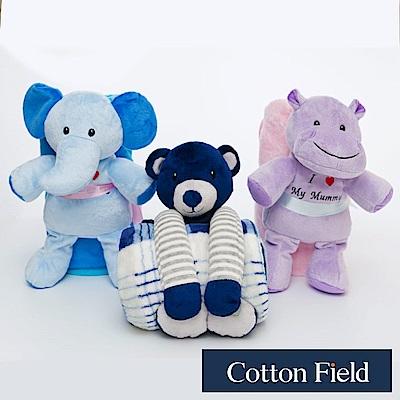 棉花田 Happy Baby 超柔可愛玩偶多功能保暖毯-3款可選(100x75cm)