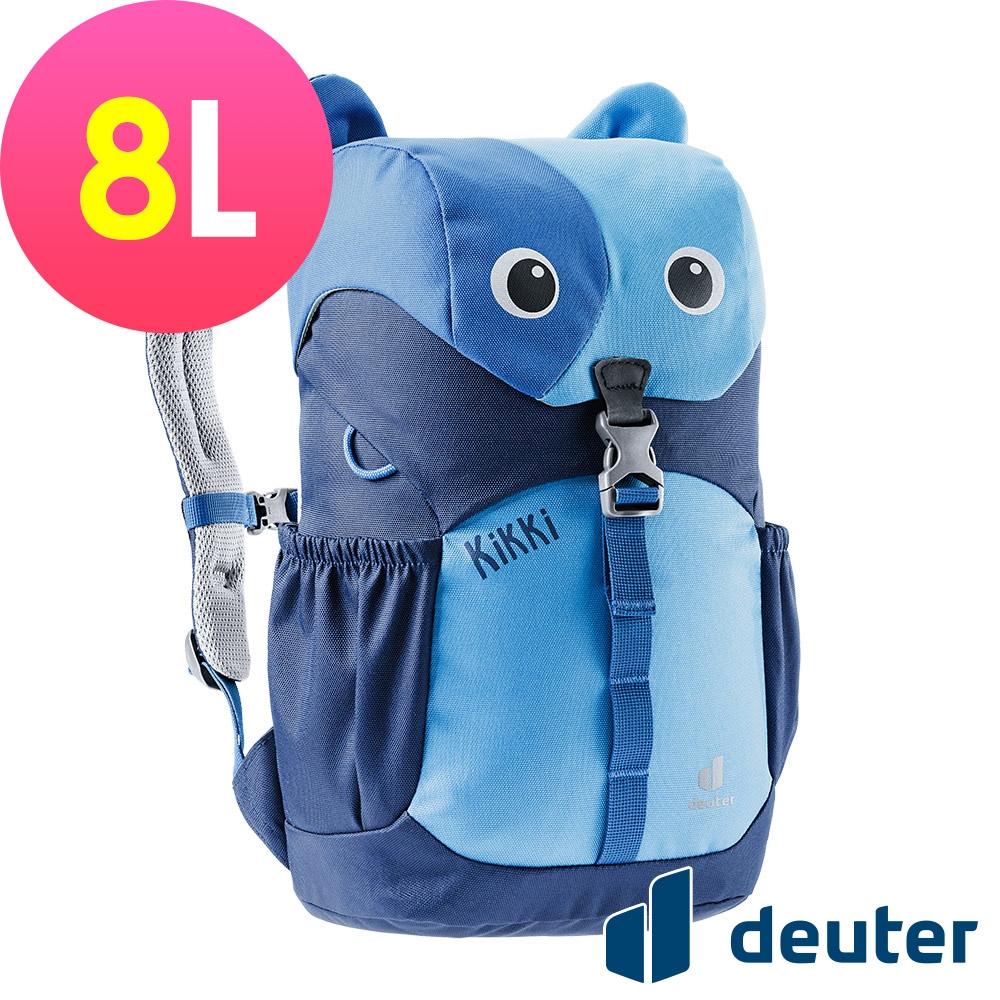 【deuter德國】可愛造型貓咪kikki兒童背包8L/書包/旅遊包3610421藍/深藍