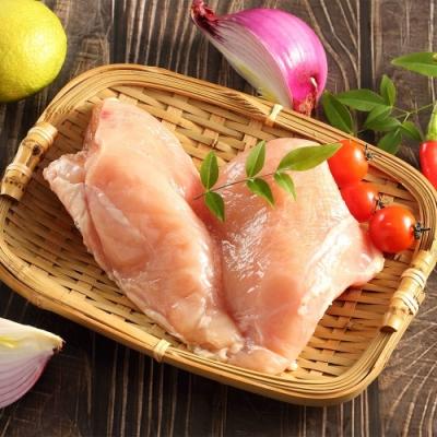 (滿額免運)上野物產-2包組-新鮮真空包裝無骨雞胸肉(1000g土10%/包 約12片)