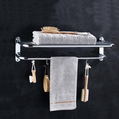 莫菲思 不鏽鋼雙層壁式浴室毛巾架