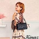 KINAZ 甜美氣息兩用鏈帶斜背包-露比系列