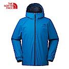 The North Face北面男款藍色防風連衣外套|3L88M19