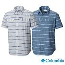 Columbia 哥倫比亞男款-UPF30快排短袖襯衫-2色
