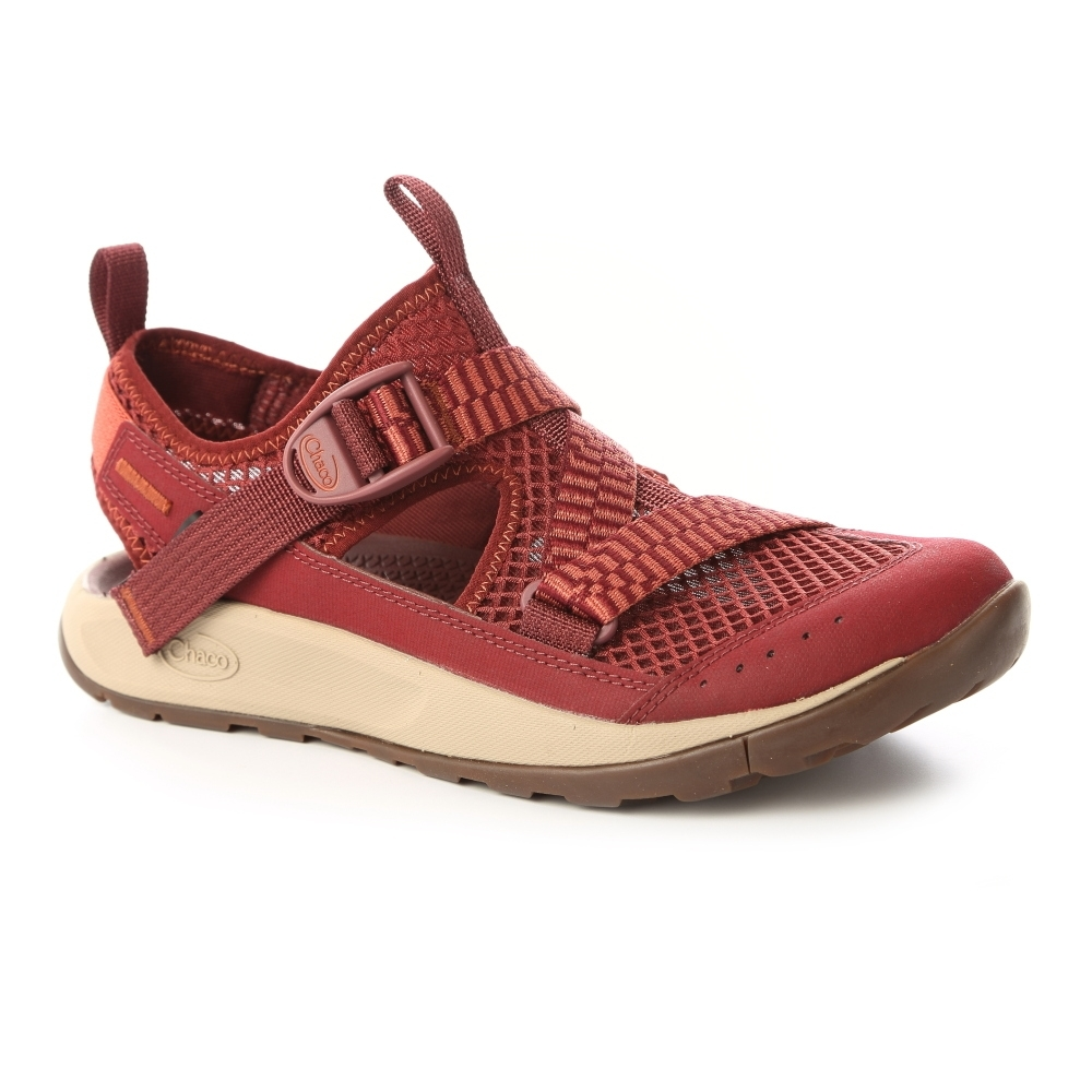 美國Chaco。女 ODYSSEY 越野水陸鞋CH-ODW01HG27 (成熟赭紅)