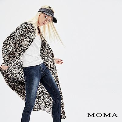 MOMA 豹紋襯衫洋裝
