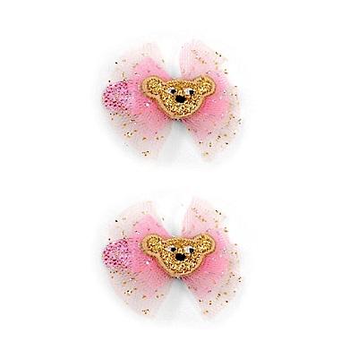 WHY AND 1/2 mini 兩件組蝴蝶結髮夾