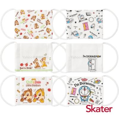 Skater 兒童用紗布口罩-奇奇蒂蒂+哆啦A夢