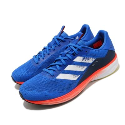 adidas 慢跑鞋 SL20 Summer Ready 男鞋 愛迪達 三線 輕量 避震 馬牌輪胎大底 藍 橘 FU6621