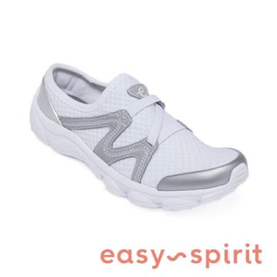 Easy Spirit-seTHALLOW2 輕量再進化 彈性微包休閒女鞋-白色