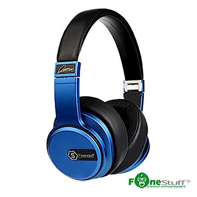 (買一送一)Fonestuff Drama5 Hi-Fi 劇院耳罩式耳機 (搖滾藍)
