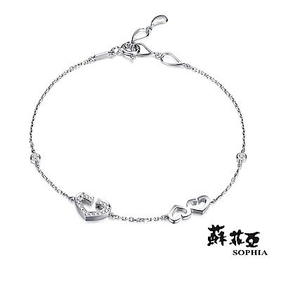 蘇菲亞SOPHIA - 心有所屬鑽石手鍊