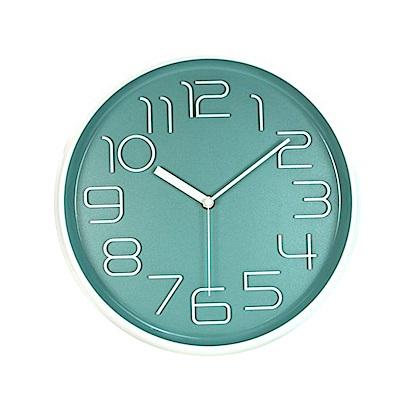 NAKAY <b>12</b>吋簡約立體數字掛鐘/時鐘(NCL-383)超靜音
