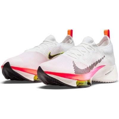 NIKE 耐吉 慢跑鞋 運動鞋 氣墊 男鞋 白橘紅 DJ5430-100 AIR ZOOM TEMPO NEXT% FK