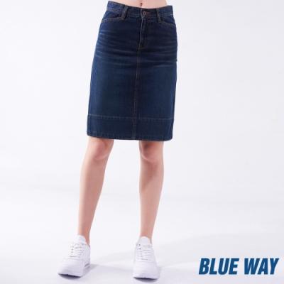 鬼洗 BLUE WAY -修身丹寧牛仔短裙