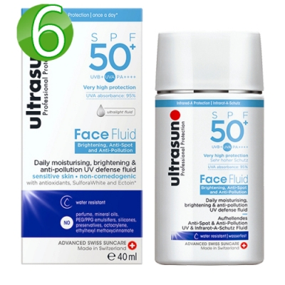 Ultrasun優佳 隔離多效亮膚防曬乳SPF50+*6入組PA++++(40ml/罐)