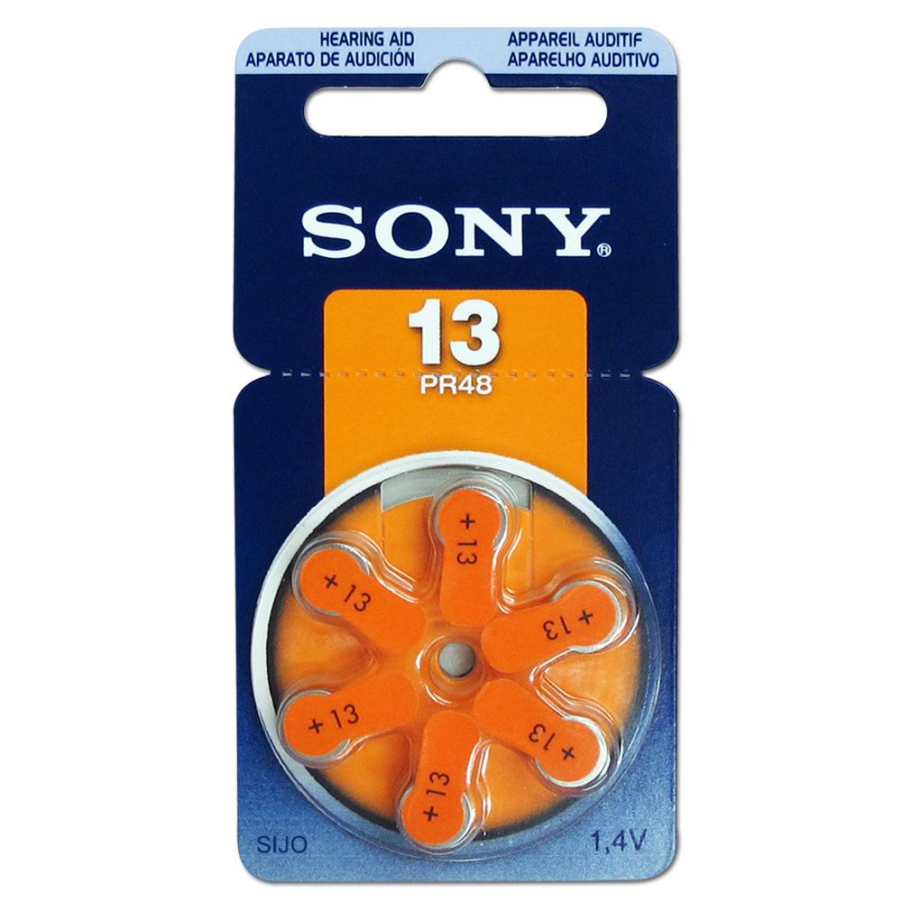 SONY PR48/S13/A13/13 空氣助聽器電池(1卡6入) @ Y!購物