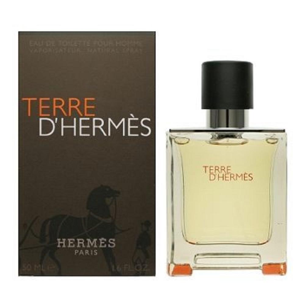 HERMES 愛馬仕 大地 男性淡香水 50ml 附隨機針管香水乙份