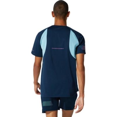 ASICS 亞瑟士 VISIBILITY短袖上衣 男 短袖上衣  2011B884-400